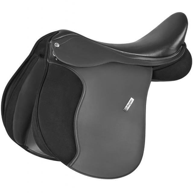 Collegiate Chatsworth All Purpose Saddle Black