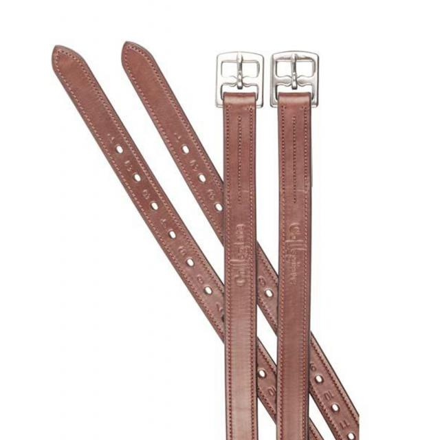 Collegiate Leather Stirrup Leathers Brown