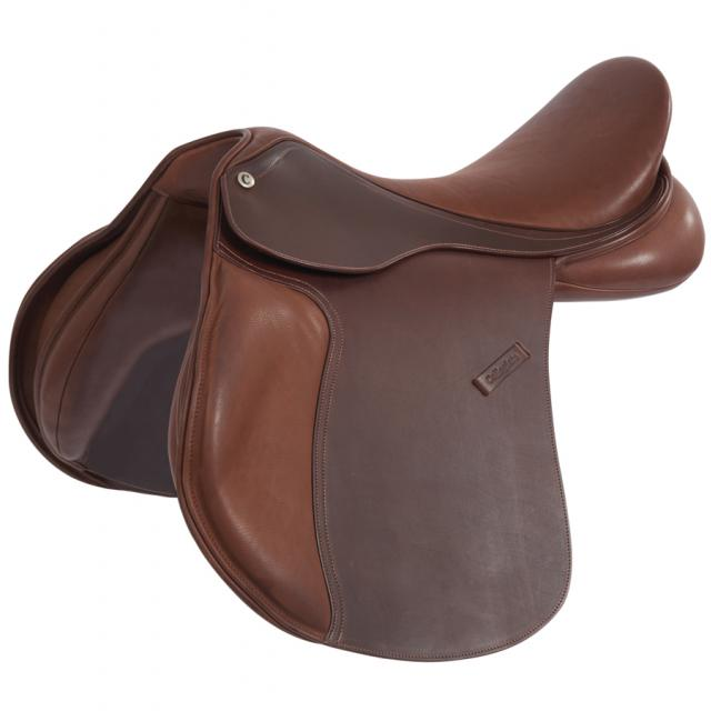 Collegiate Scholar All Purpose Saddle With Round Cantle Brown