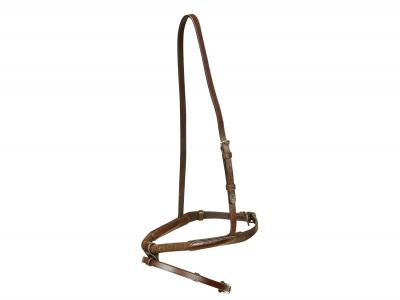 Collegiate Rope Hanovarian Noseband Brown