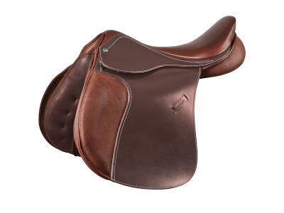 Collegiate Scholar All Purpose Saddle with Square Cantle Brown